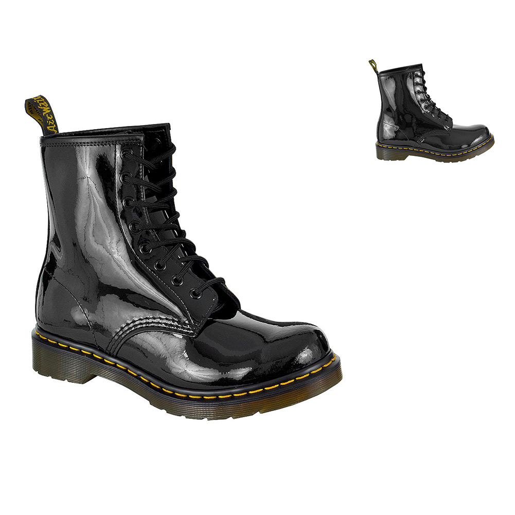 dr doc martens 1460 boots mens womens classic 8 eyelet airwair dm leather shoes ebay. Black Bedroom Furniture Sets. Home Design Ideas