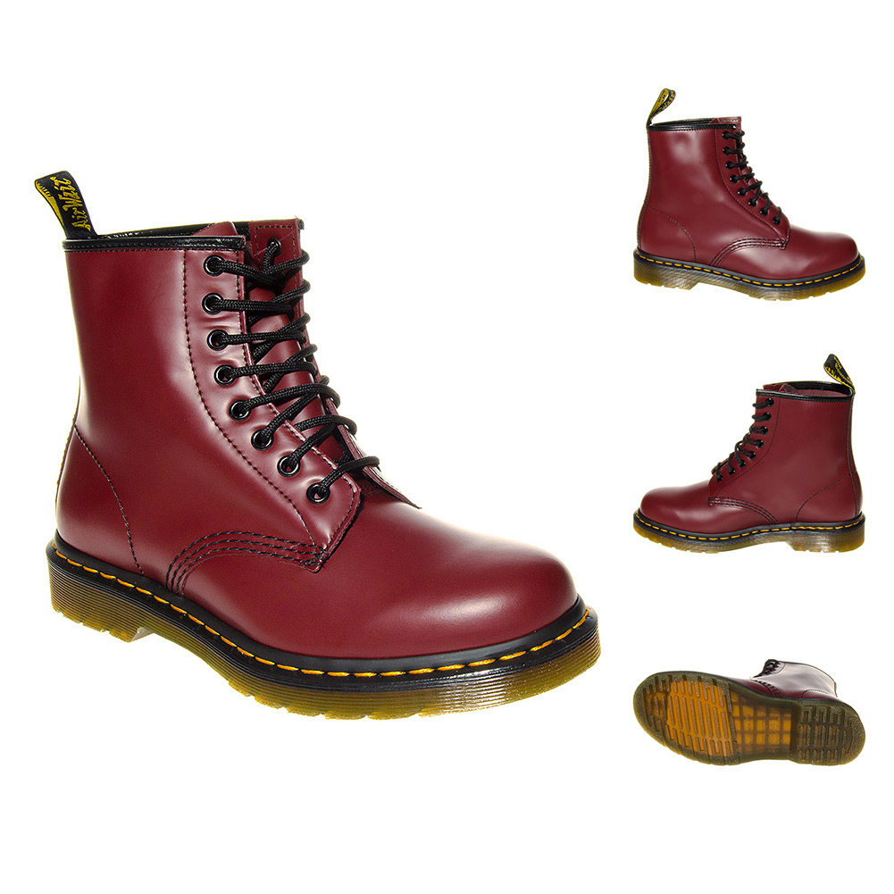 dr martens 1460 boots doc stiefel 8loch springerstiefel damen herren schuhe ebay. Black Bedroom Furniture Sets. Home Design Ideas