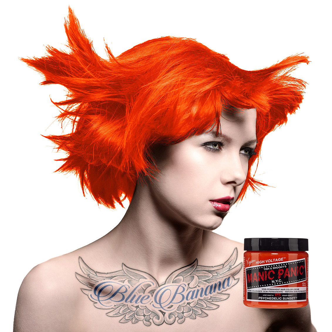 Manic Panic Classic Psychedelic Sunset Orange Semi Permanent Hair
