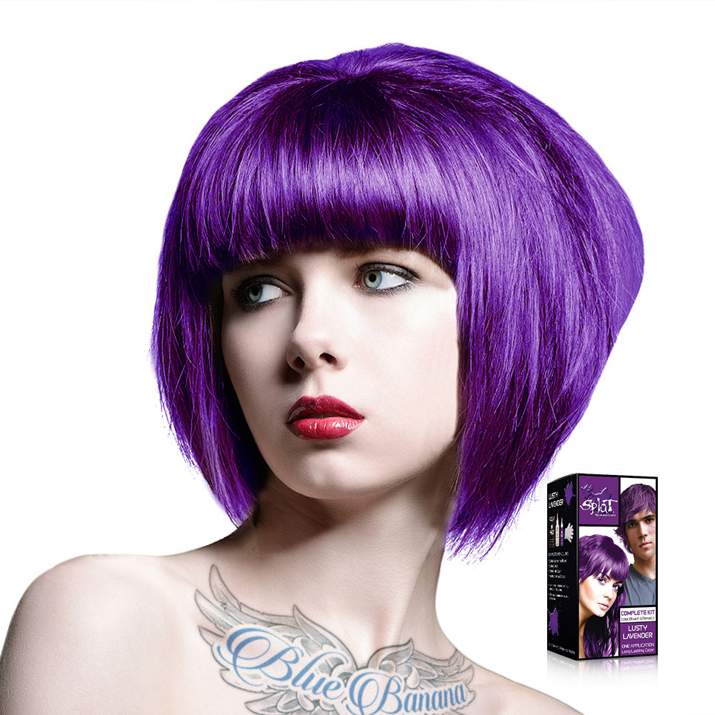 Splat Long Lasting Semi Permanent Cruelty Free Hair Dye Kit - All ...