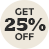 25% Off Selected Coloured Contact Lenses