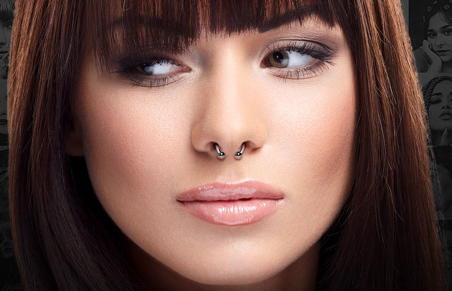 Septum Piercing Jewellery Faqs Guide Blue Banana Uk