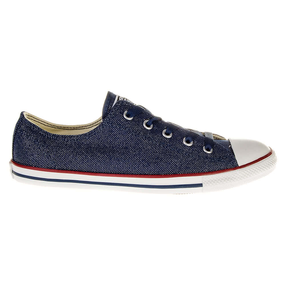 converse navy denim