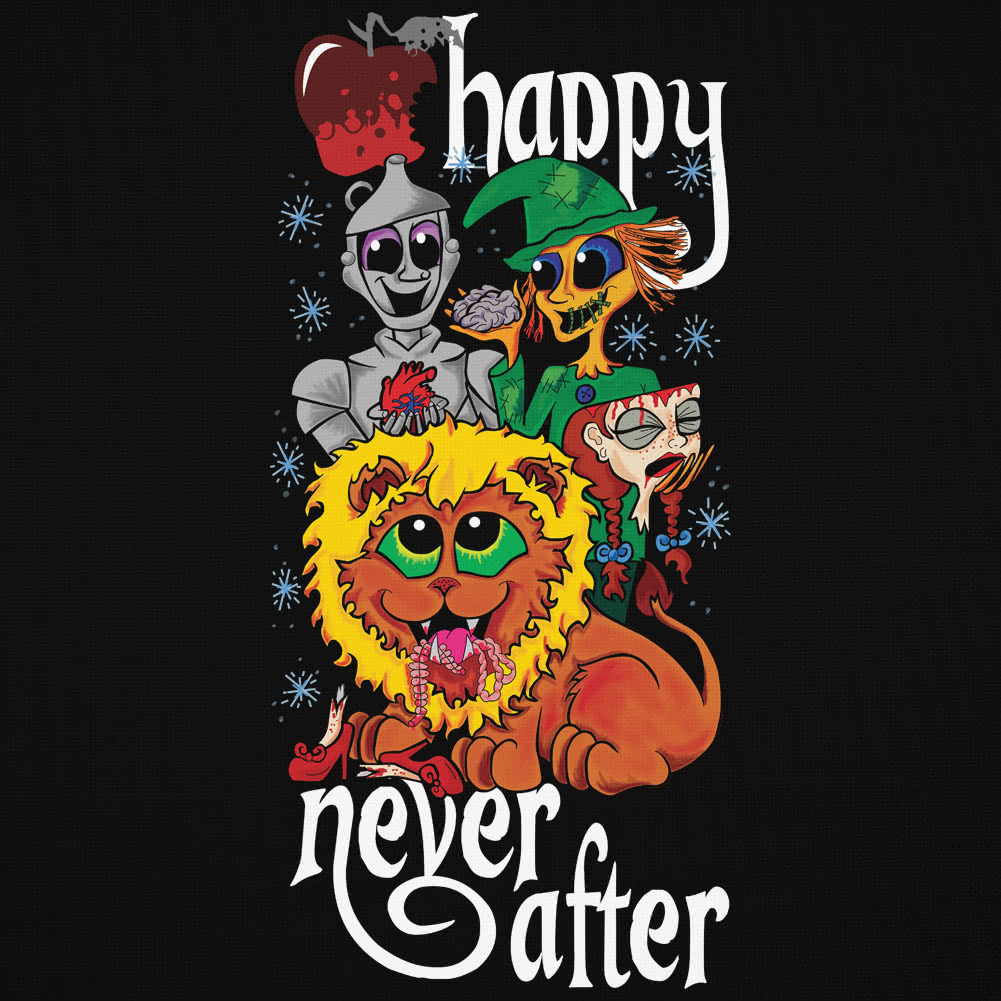 Happy Never After Dead Gang Vest Top (Black)