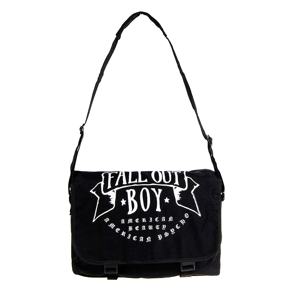 Official Fall Out Boy American Beauty Messenger Bag (Black)