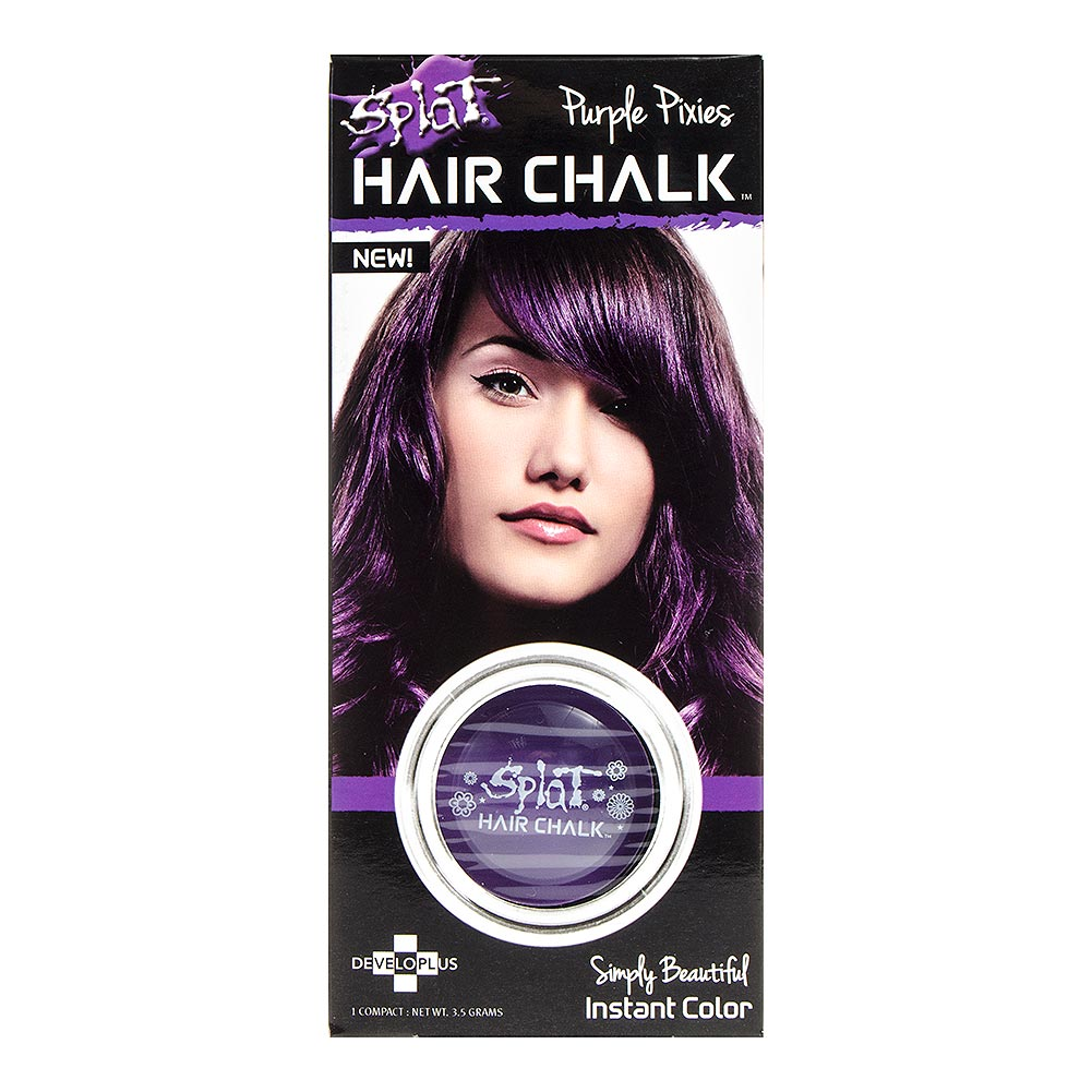 Splat Hair Chalk 3.5g (Purple Pixies)