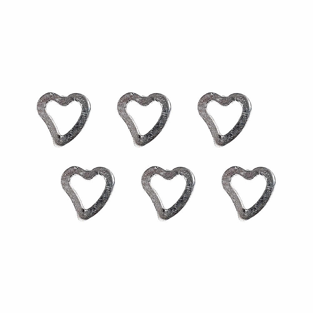 Heart Nose Stud (6 Pack)