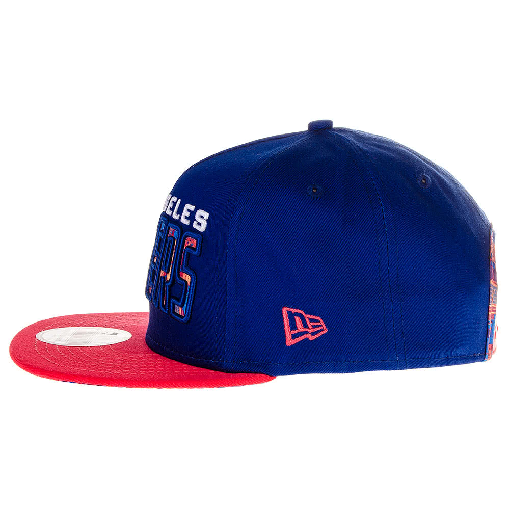 New Era LA Dodgers Snapback Hat (Blue)