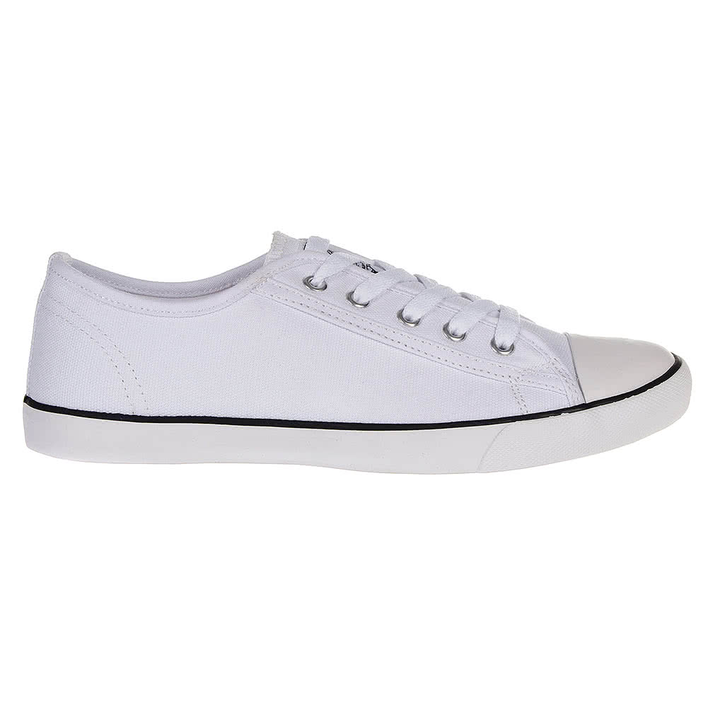 Bleeding Heart Grace Canvas Shoes (White)