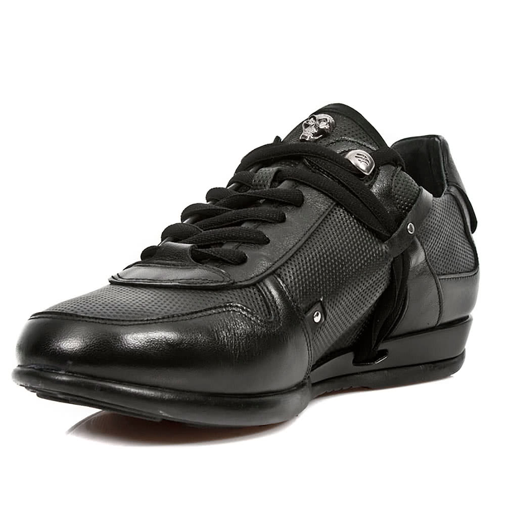 New Rock M.HY001-S8 Hybrid Trainer Shoes (Black)