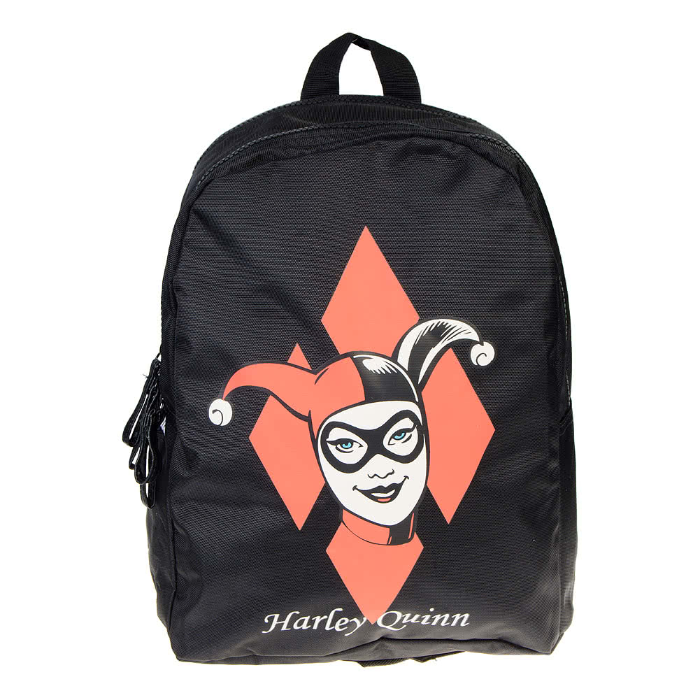 DC Comics Harley Quinn Backpack (Black)