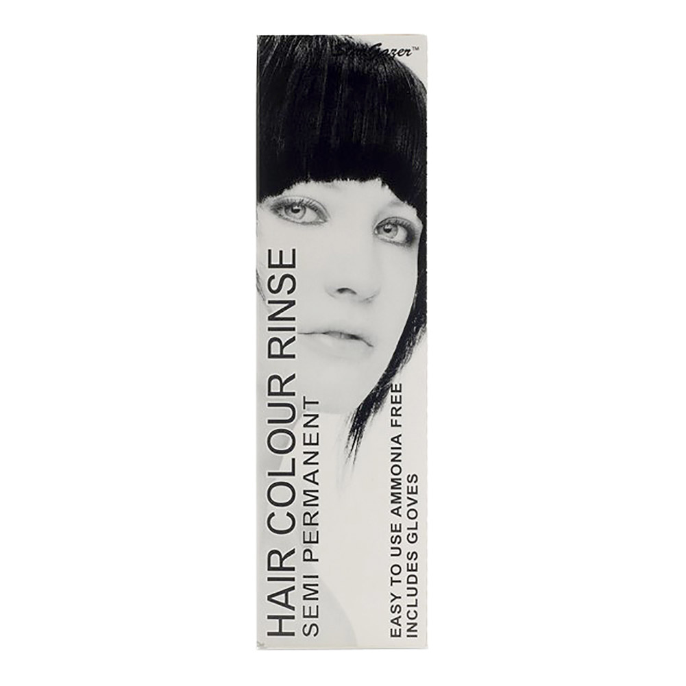 Stargazer Semi-Permanent Hair Dye 70ml (Pitch Black)