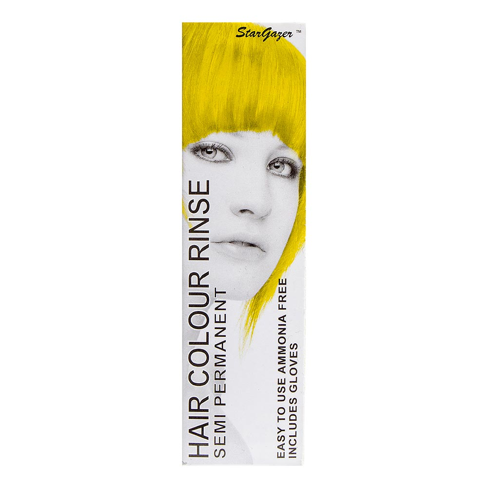 Tinte capilar semi-permanente de Stargazer 70ml (Yellow - amarillo)