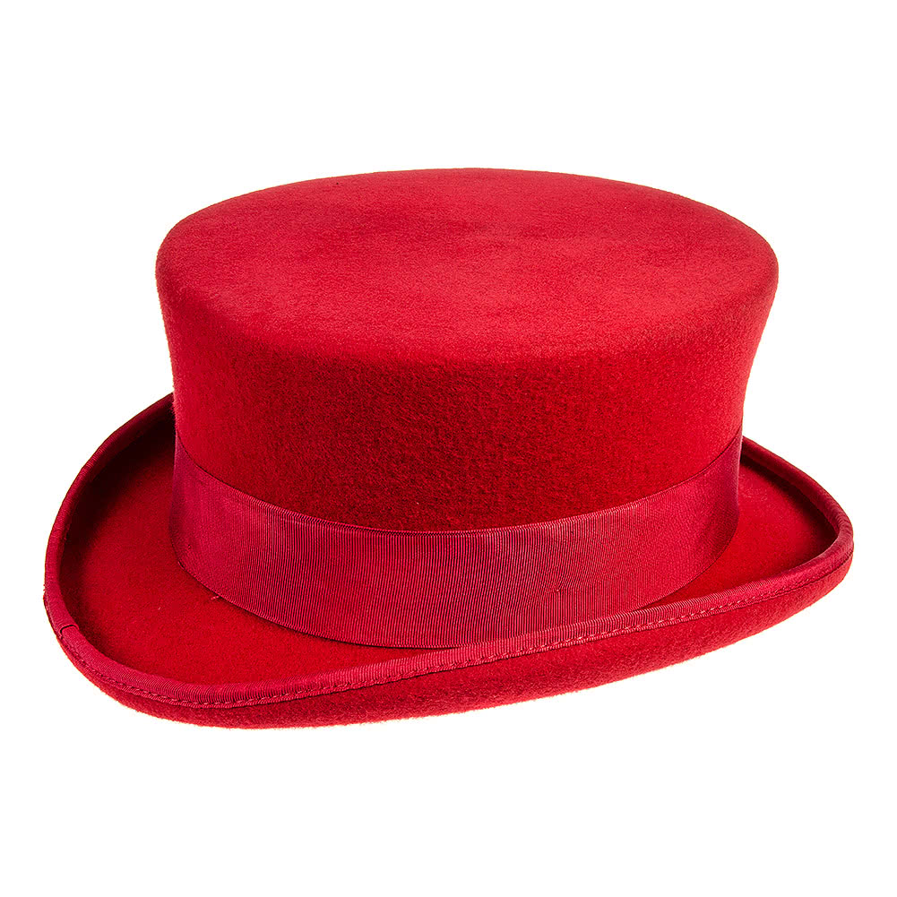 Cappello Cilindro Junior Major Wear (Rosso)