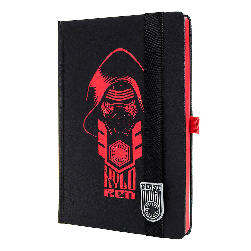 Star Wars Kylo Ren A5 Premium Notebook (Black)