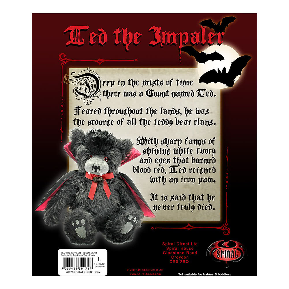 Spiral Direct Ted The Impaler Plush Toy