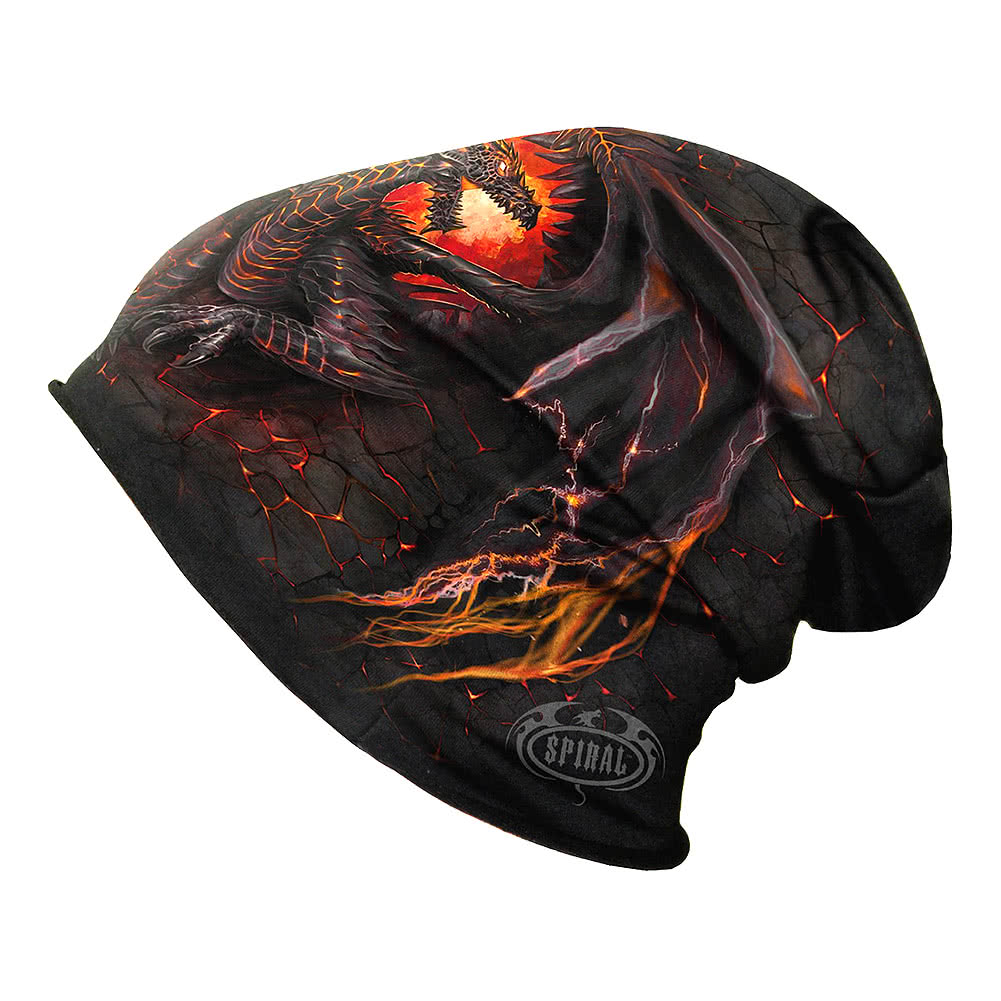 Spiral Direct Dragon Furnace Beanie (Schwarz)