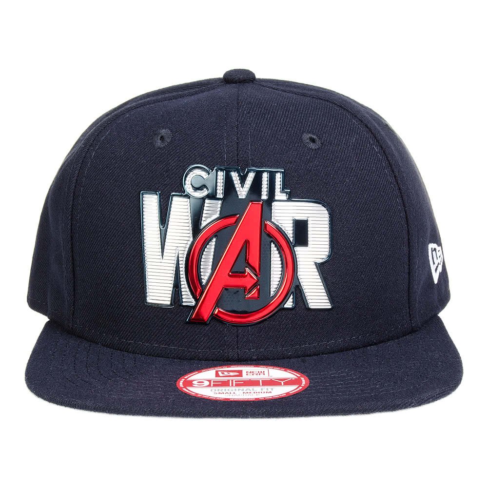 ... New Era Civil War Liquid Chrome 9Fifty Snapback Hat (Navy) ... c70d8115a764
