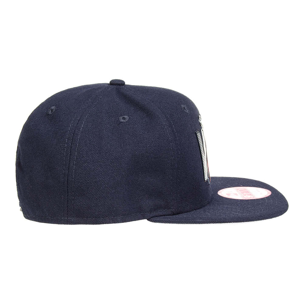 Gorra New Era Civil War Liquid Chrome 9Fifty (Azul Marino)