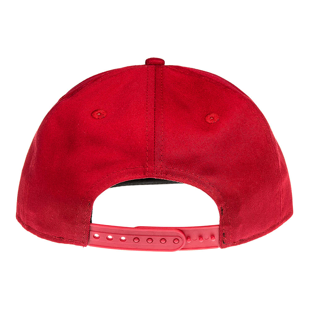 New Era 9Fifty Patched Snapback Hat (Red/Black)
