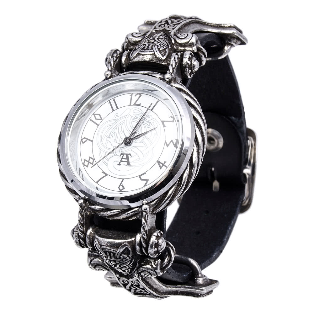 Alchemy Gothic Thorgud Ulvhammer Watch