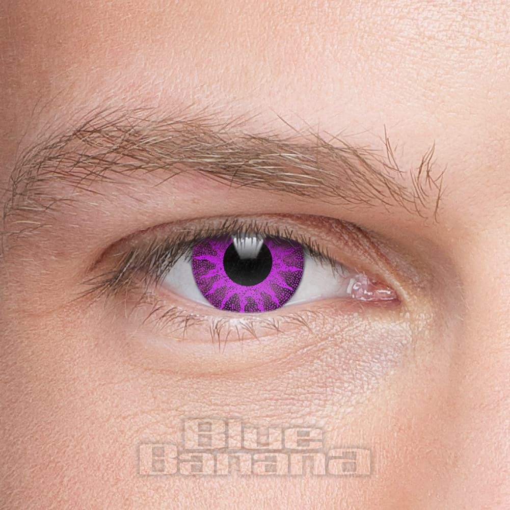 Solar 90 Day Coloured Contact Lenses (Violet)