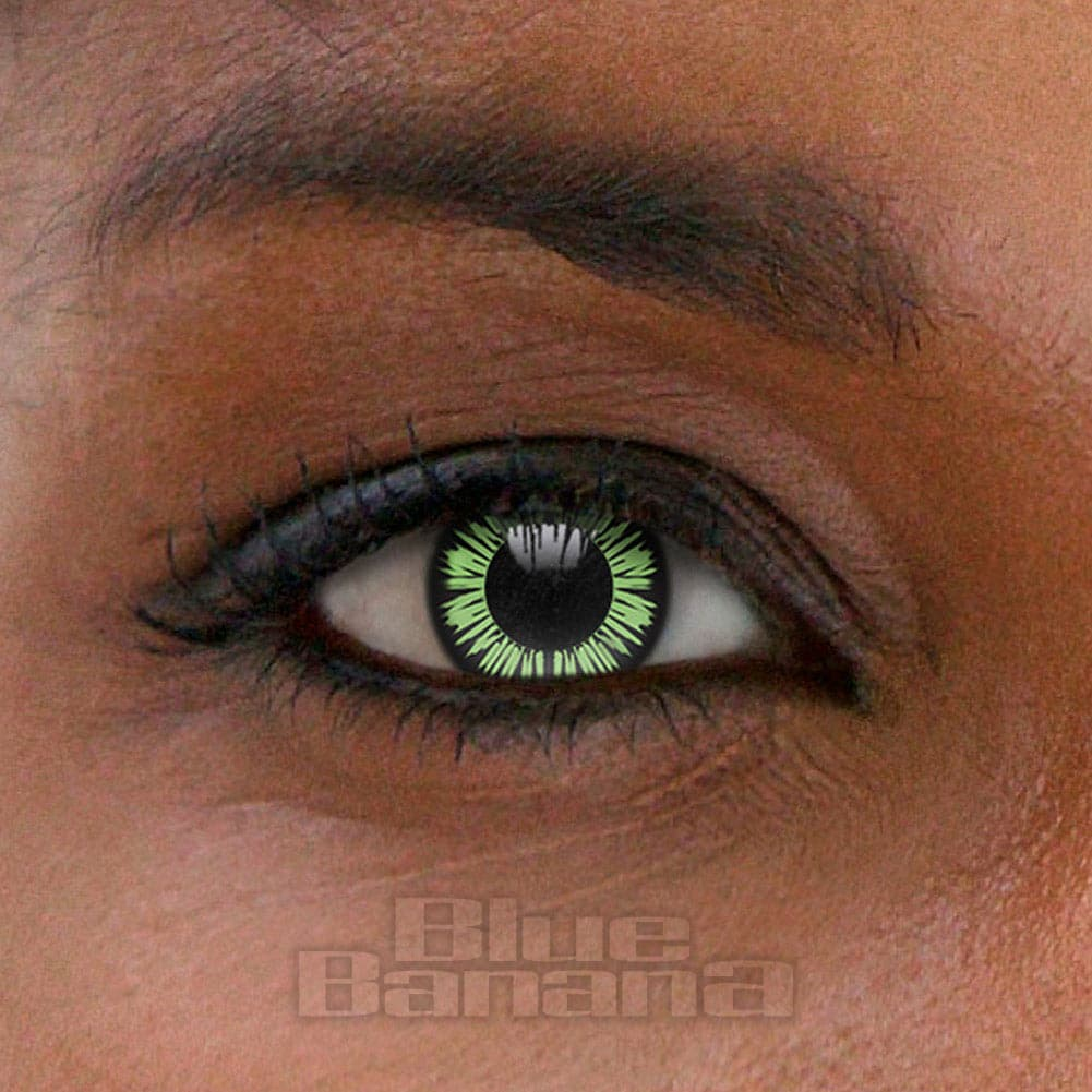 Big Eyes Party 90 Day Coloured Contact Lenses (Green)