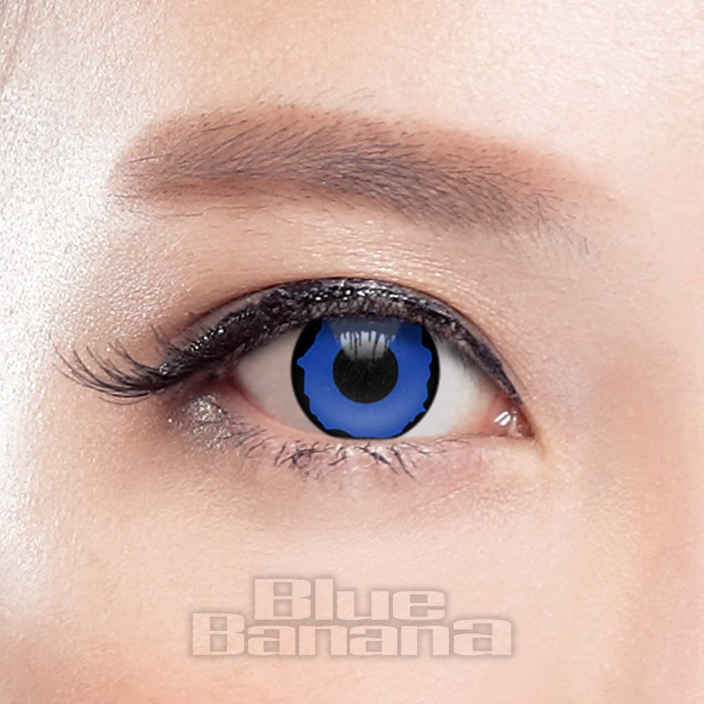 Pixie 90 Day Coloured Contact Lenses (Blue)