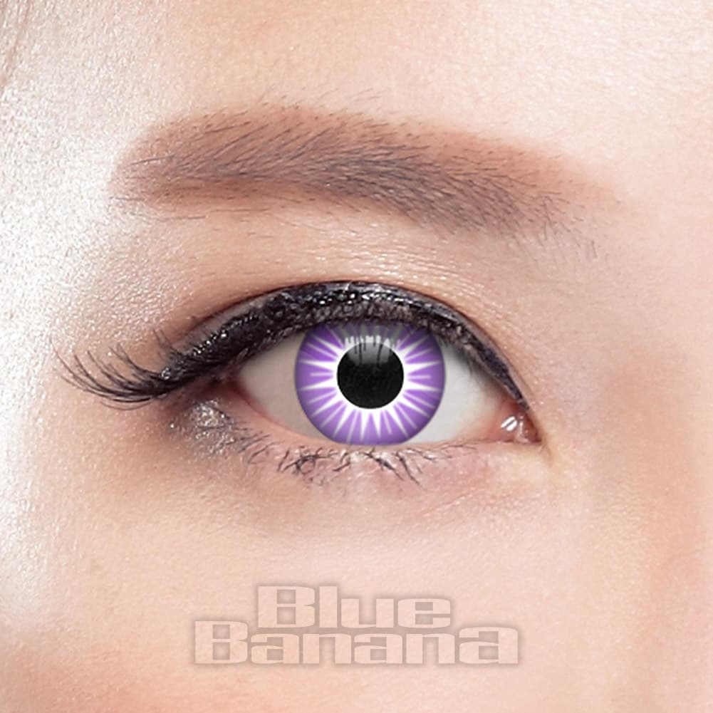 Starburst 90 Day Coloured Contact Lenses (Purple)