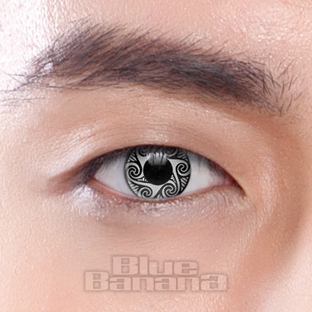 Sorcerer 90 Day Coloured Contact Lenses (Grey)