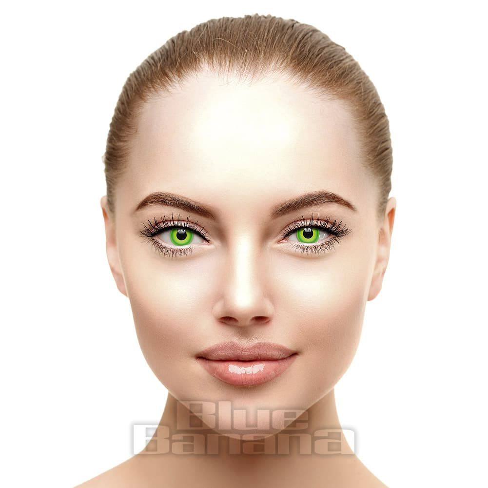 Hulk 90 Day Coloured Contact Lenses (Green)