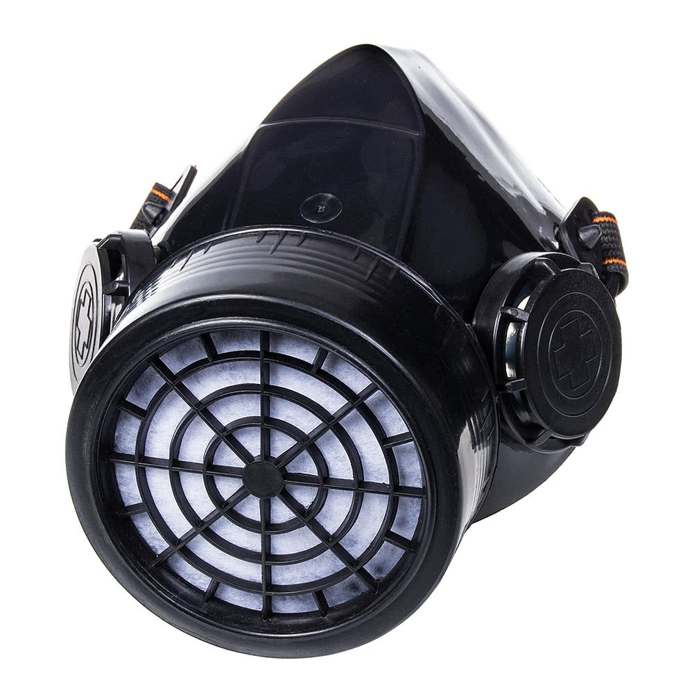 Blue Banana Single Vent Gas Mask (Black)