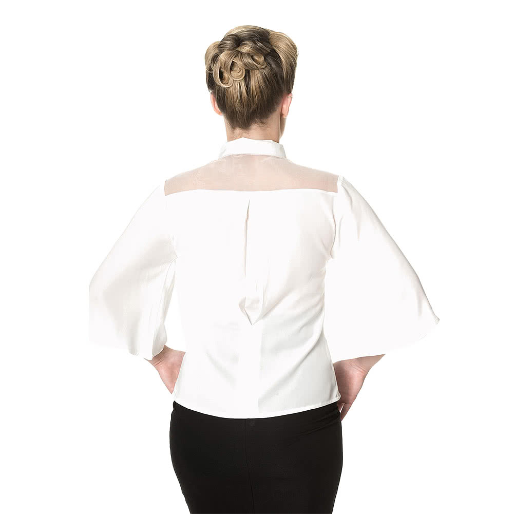 Banned Bows Delight Blouse (Cream)