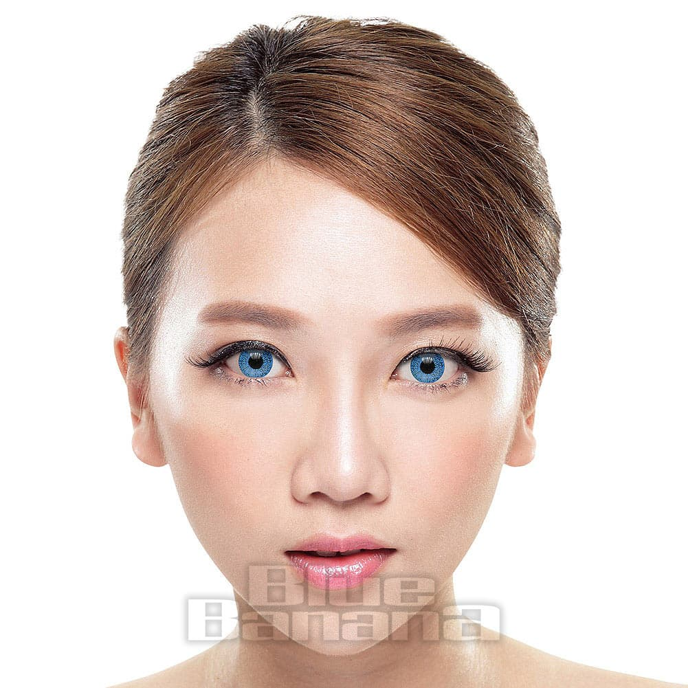 One Tone 1 Day Coloured Contact Lenses (Blue)