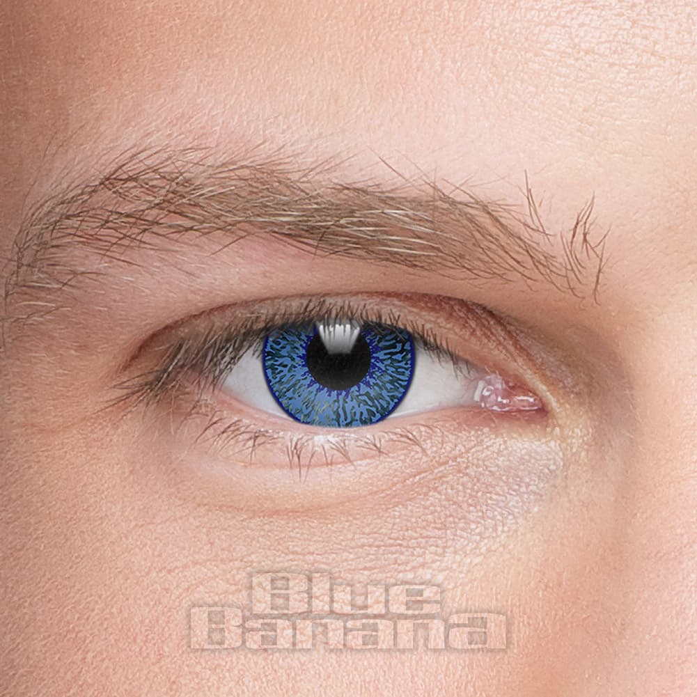 Mystic 1 Day Coloured Contact Lenses (Blue)