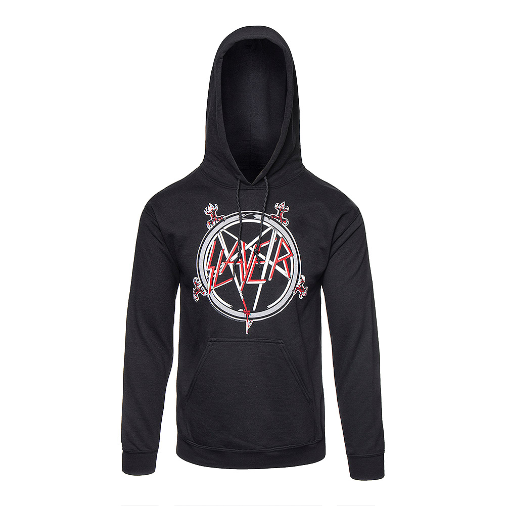 Official Slayer Pentagram Hoodie (Black)