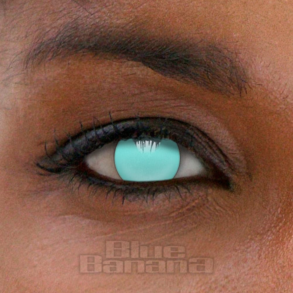 Blind 1 Day Coloured Contact Lenses (Blue)