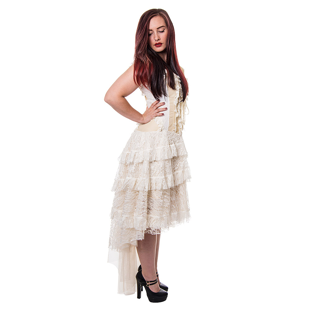 Desdemona Dress (Cream)