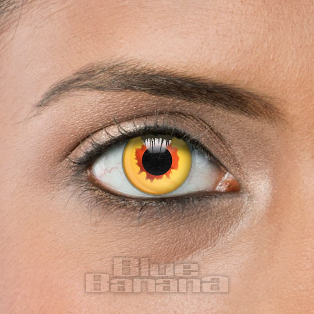 Vampire 1 Day Coloured Contact Lenses (Gold)