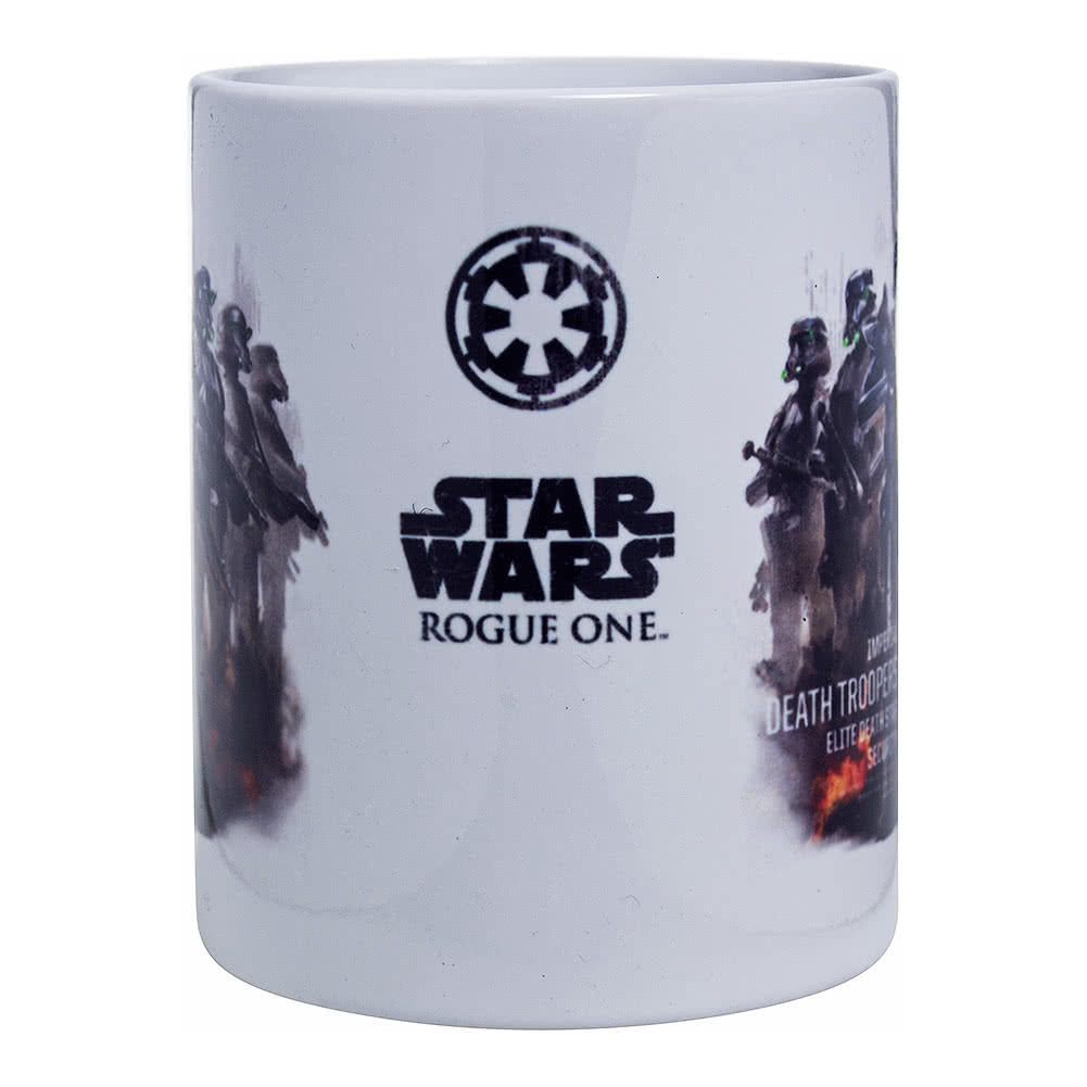 Star Wars Rogue One Mort Trooper Profil Tasse en céramique, multicolore