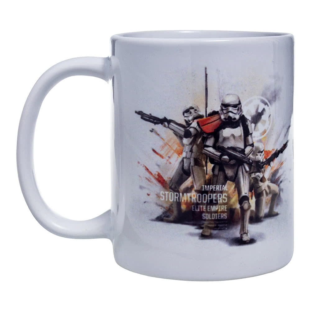 Taza Star Wars Rogue One Stormtrooper (Blanco)
