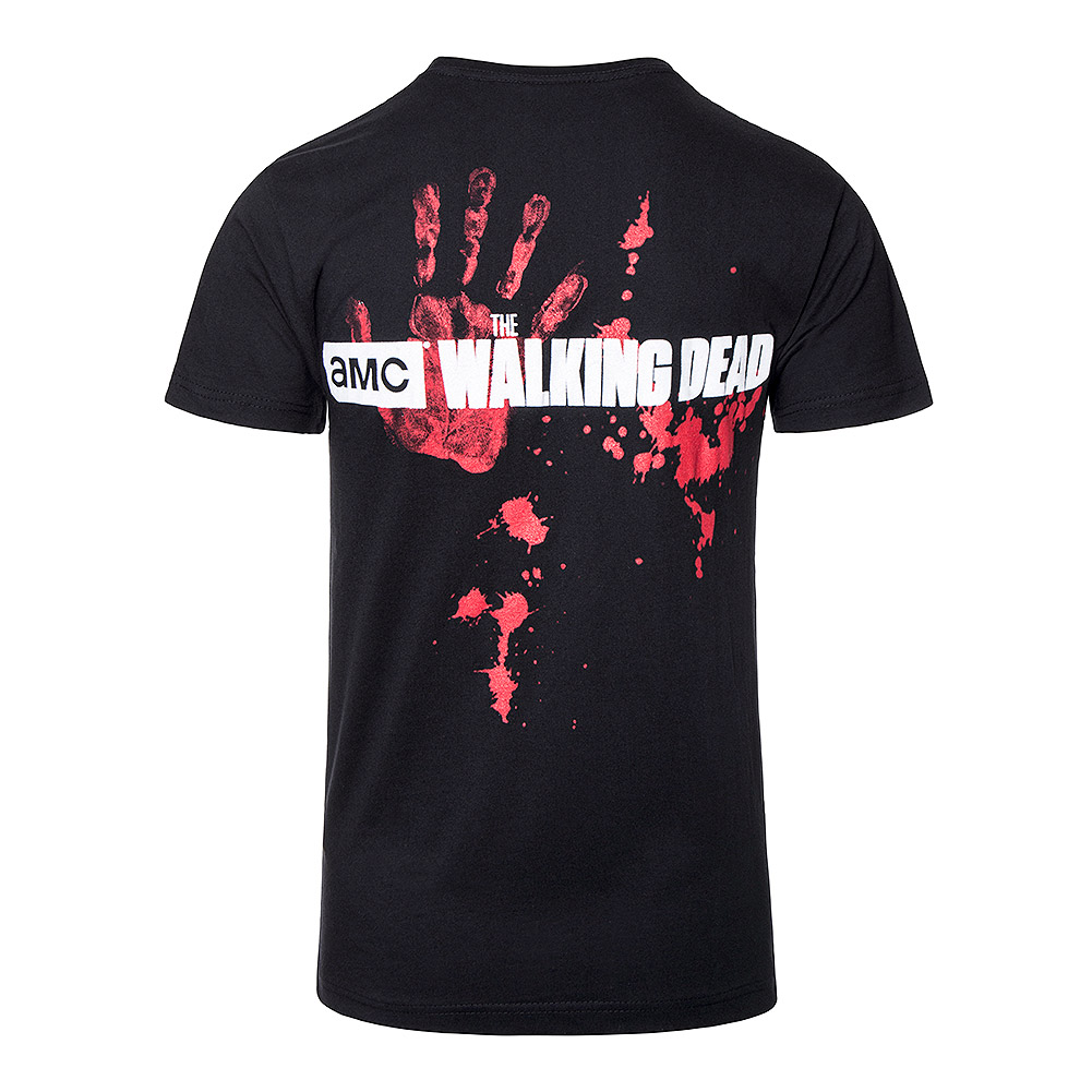 Spiral Direct X The Walking Dead Zombie Hoard T Shirt (Black)