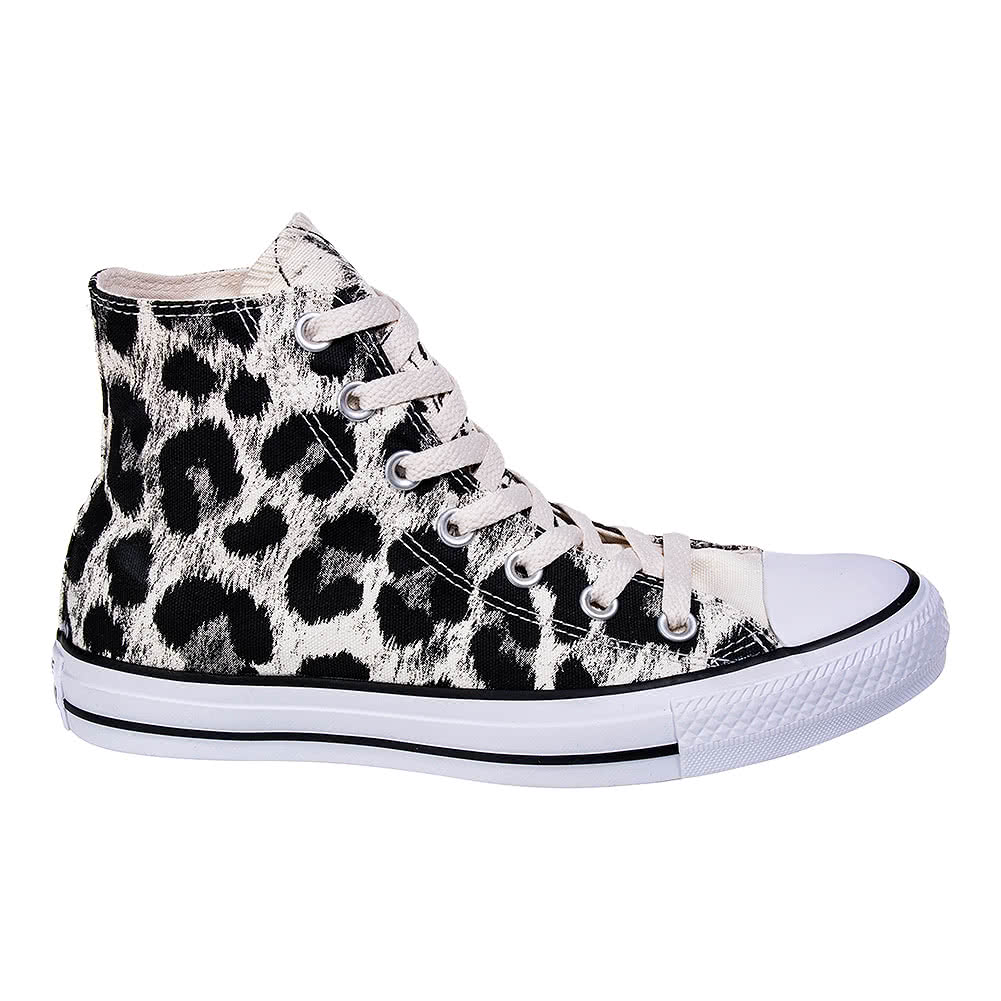 Converse All Star Hi Top Boots (Animal Print)