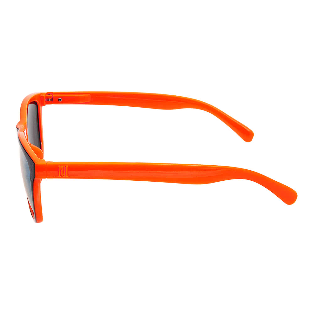 Blue Banana Rimmed Sunglasses (Black/Orange)