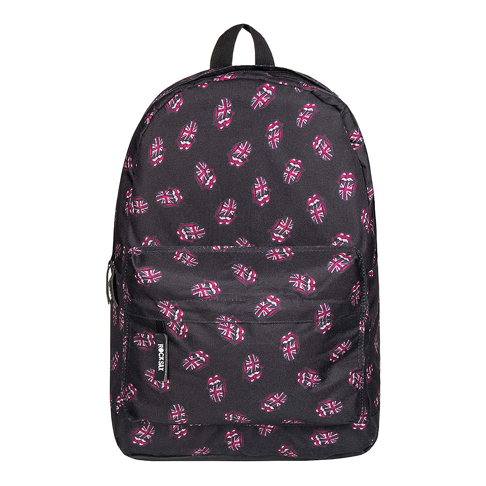 RockSax X The Rolling Stones Union Jack Backpack (Black)