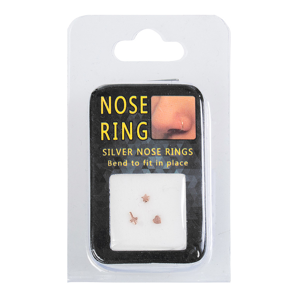 Blue Banana 0.5mm 3er Pack Nasenstecker (Roseégold)