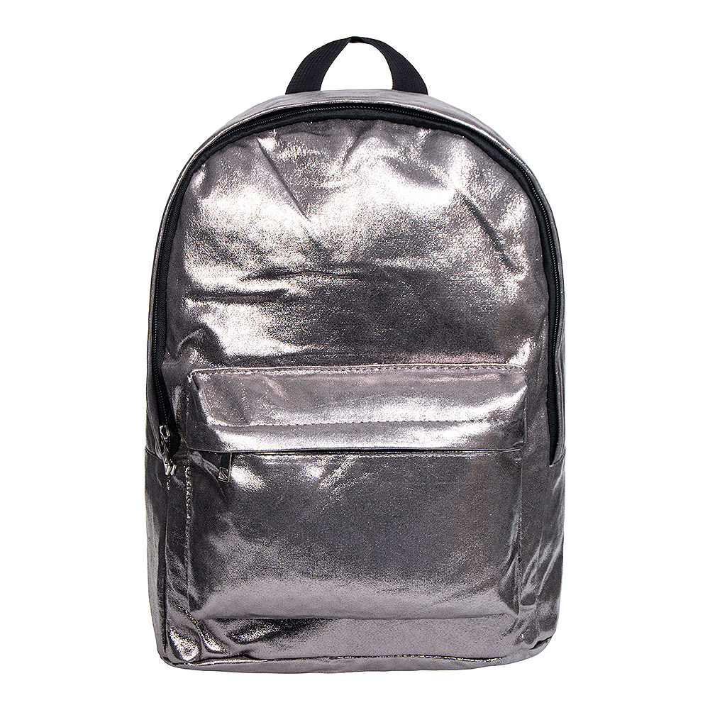 ecf2da8bdcc Metallic Silver Backpack, Kids Back To School Fashion, Holographic Bag