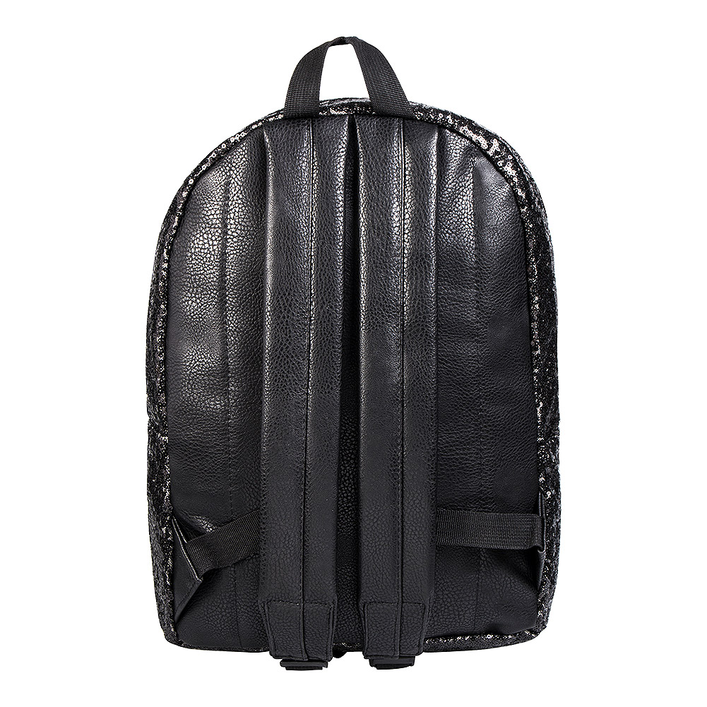 Bleeding Heart Sequin Backpack (Black)