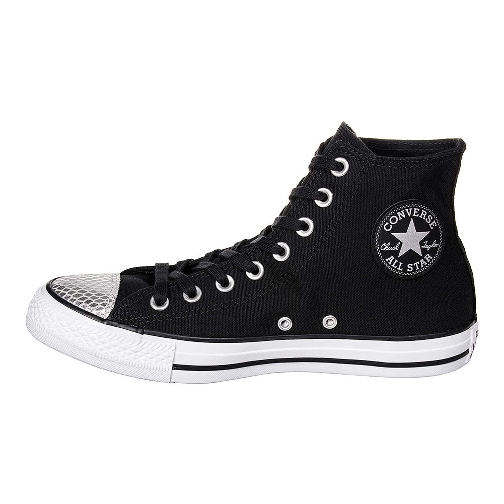 Converse All Star Metal Toe Hi Top Boots (Black)