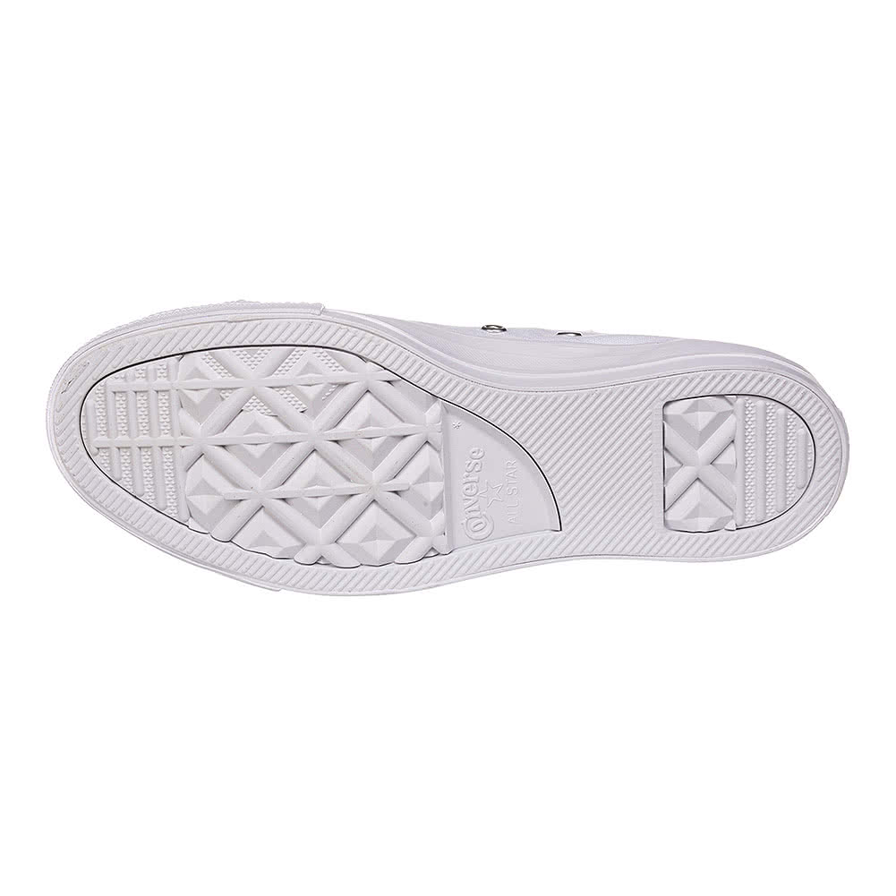 Converse All Star Metal Toe Shoes (White)